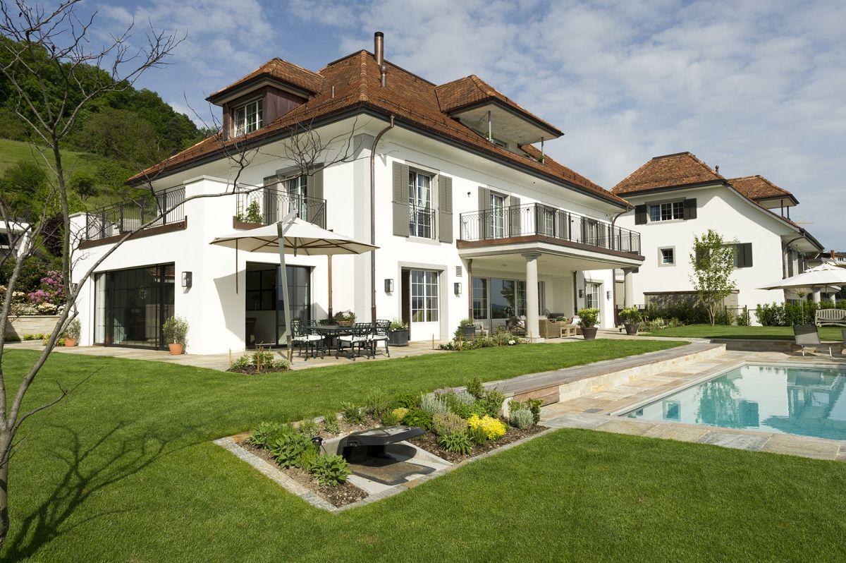 Klassische Villa Neubau klassische-architektur | neubau-wohnhauser-linkes-zurichseeufer