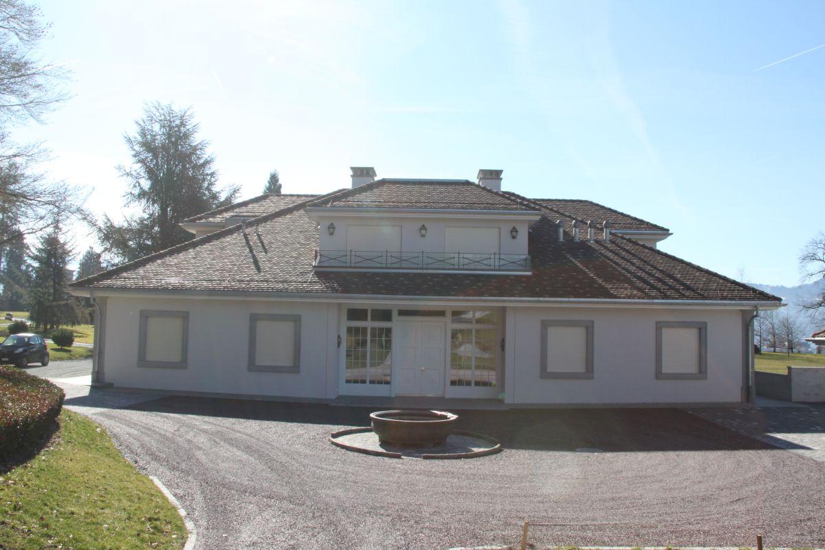 Klassische Architektur Umbau Landhaus Am Zurichsee